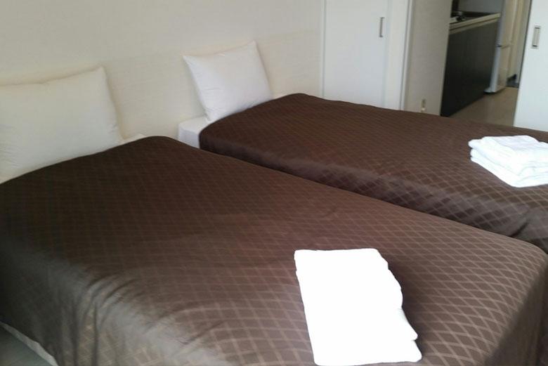 Mr.KINJO in KUME ホテル画像3