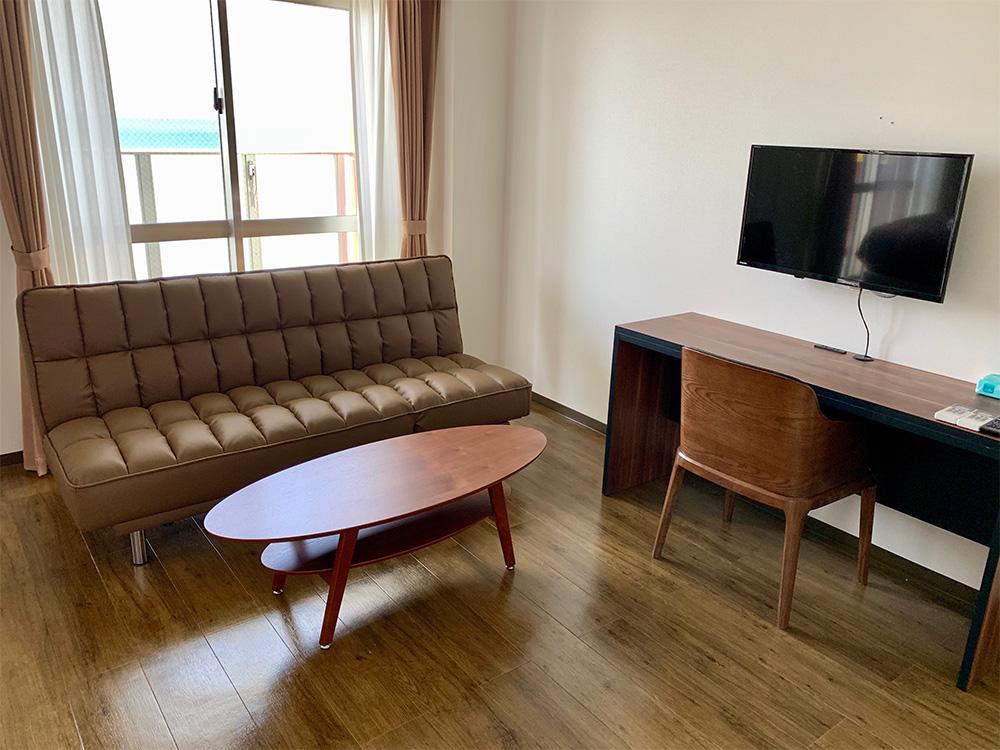 Mr.KINJO in KADENA ホテル画像4